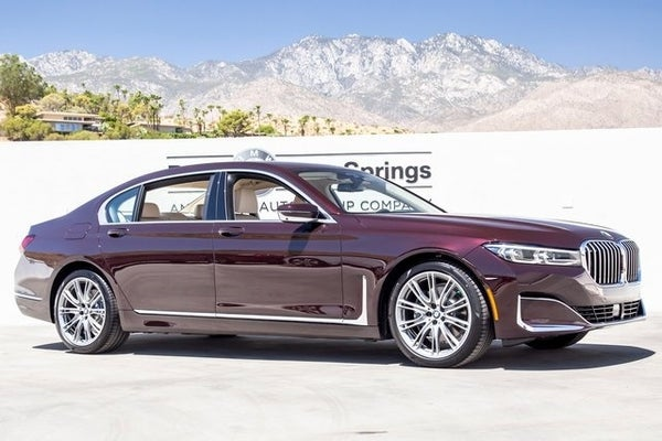 2020 Bmw 7 Series 740i In Palm Springs Ca Palm Springs